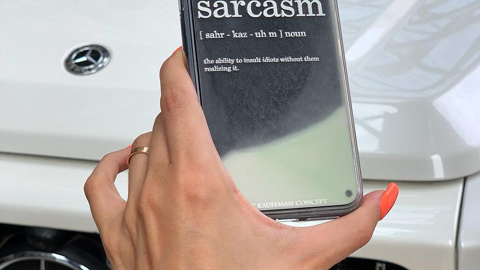 Limited Neon Sand Case SARCASM/ Black