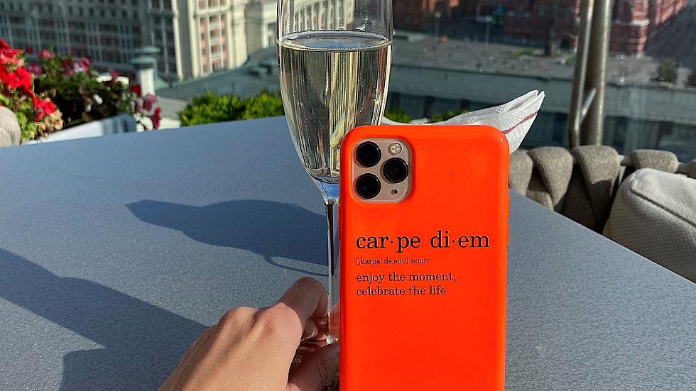 Элит-кейс на iPhone Carpe Diem