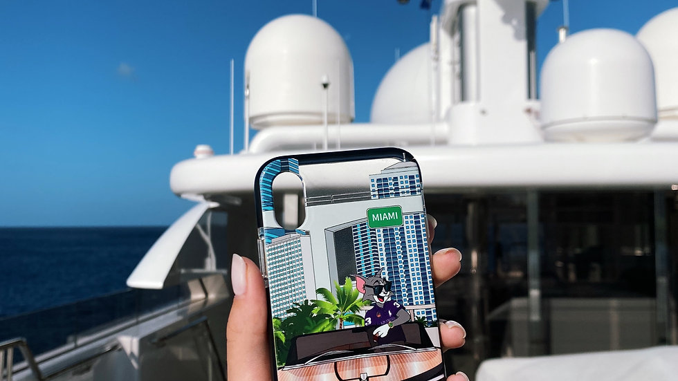 Элит-кейс на iPhone Tom Yachting Miami
