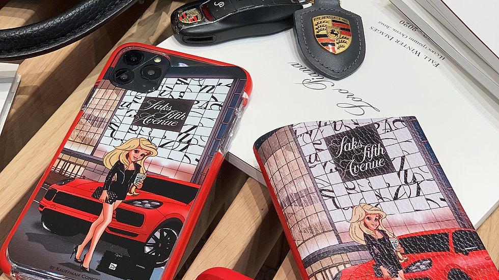 Элит-кейс на iPhone Ariel Almaty Saks