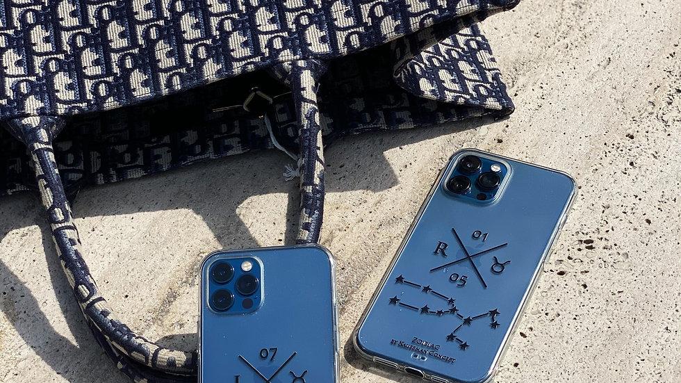 Ultra-matte премиум-кейс на iPhone Zodiac