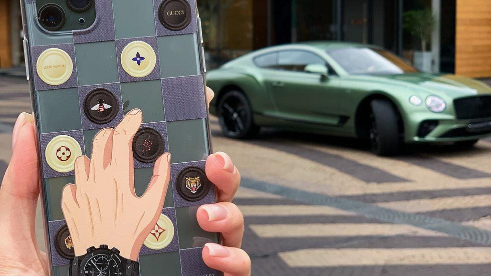 Классический премиум-кейс на iPhone CHECKERS