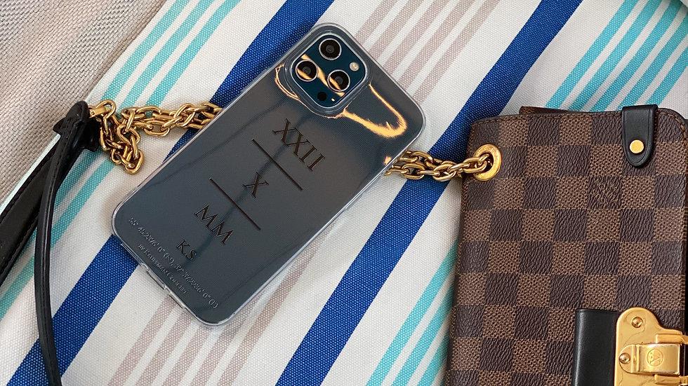 Классический премиум-кейс на iPhone Save The Date