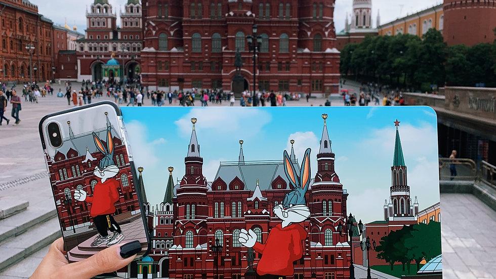 Премиум-кейс на MacBook Bunny Moscow