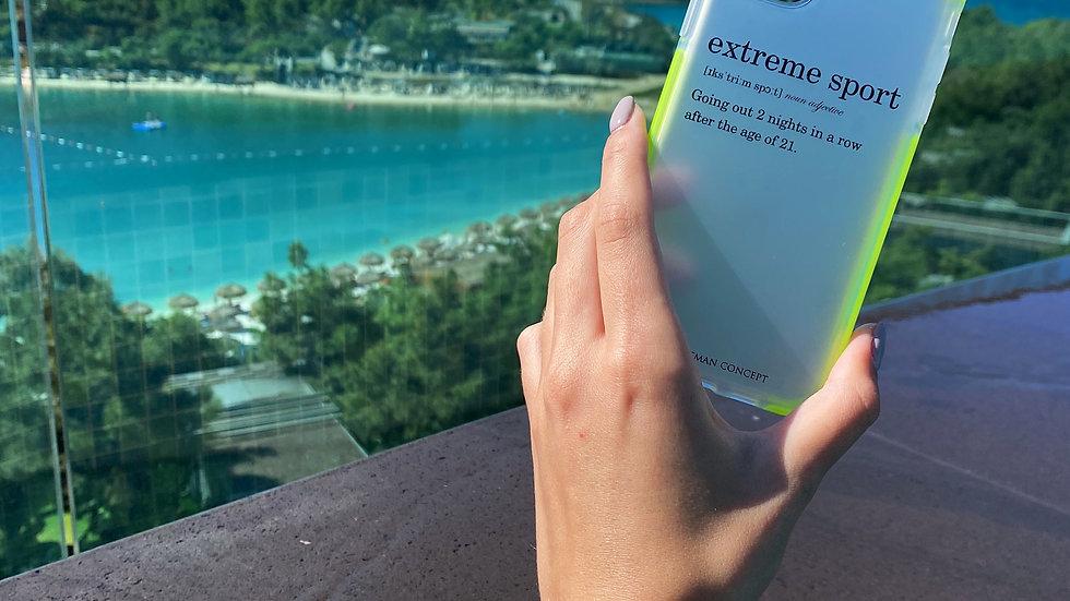 Ultra-matte элит кейс на iPhone Extreme Sport