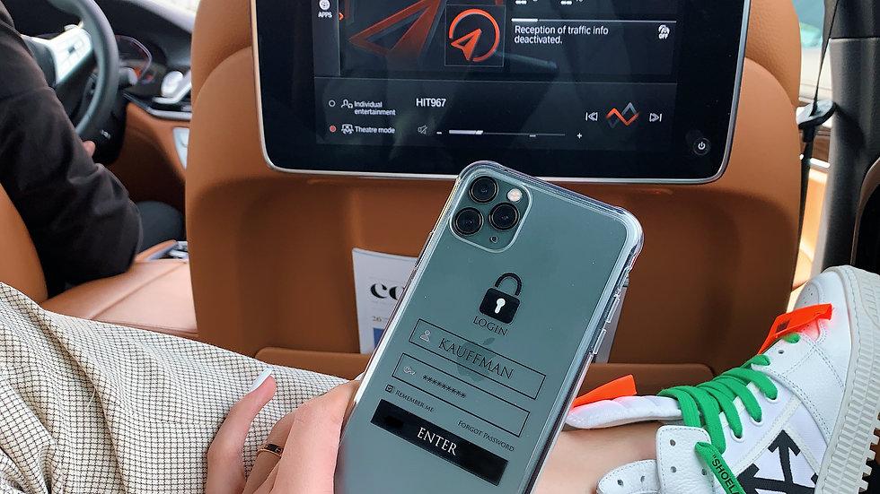 Ultra-matte премиум-силикон на iPhone LOGIN