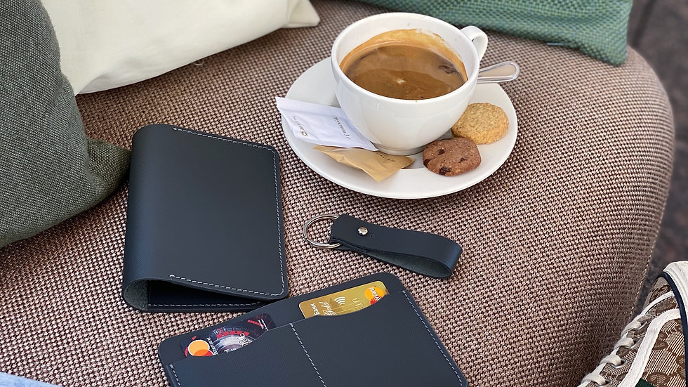 Универсальный lifestyle holder Saffiano/ Grey Graphite