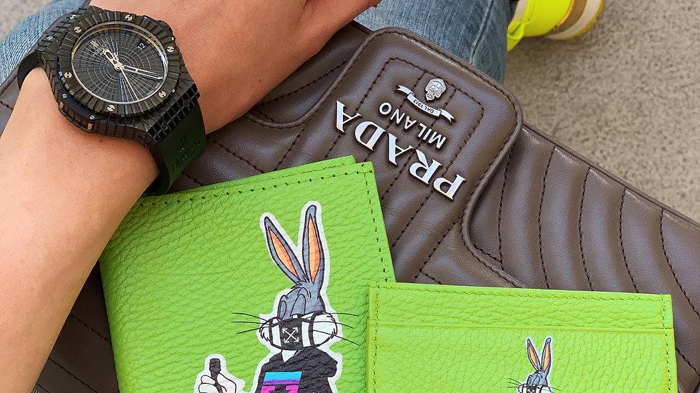 Обложка на паспорт Bunny Off