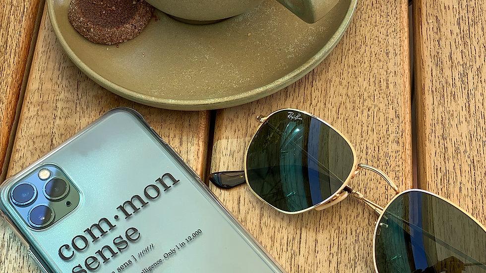 Ultra-matte премиум-кейс на iPhone Common Sense