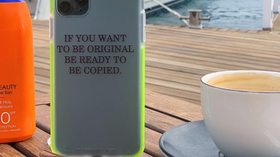 Ultra-matte элит кейс на iPhone Be Original