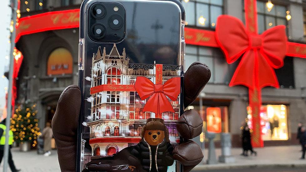 Элит-кейс на iPhone Bear Moscow
