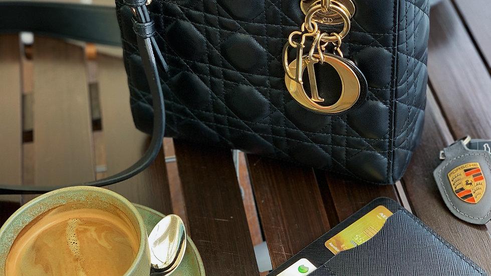 Универсальный lifestyle holder Saffiano/Black Sapphire