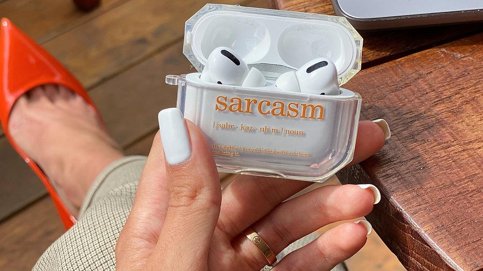 Кейс на AirPods Sarcasm