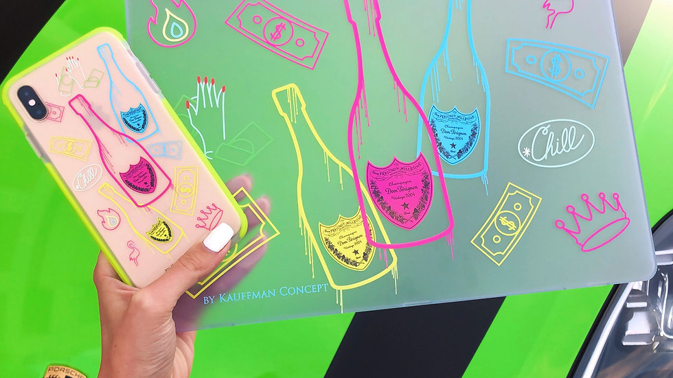 Премиум-кейс на MacBook Neon Perignon