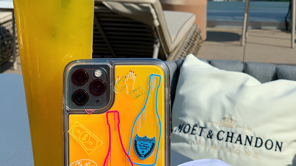 Neon Sand Case Neon Perignon / Orange edition