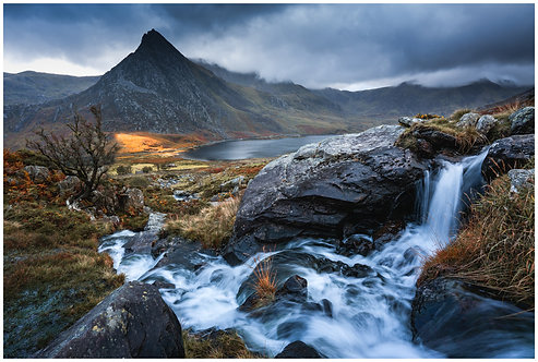 Stormy Skies over Tryfan