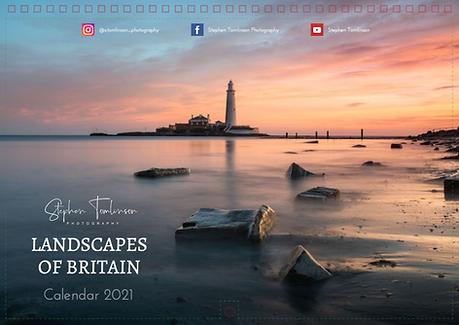 Landscapes of Britain 2021 Calendar