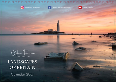 Landscapes of Britain 2021 Calendar