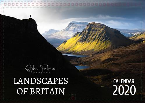 Landscapes of Britain 2020 Calendar