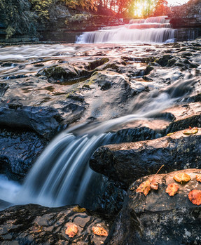 Autumnal Aysgarth Falls