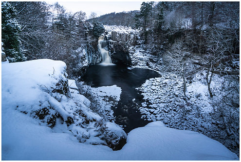 High Force in winter