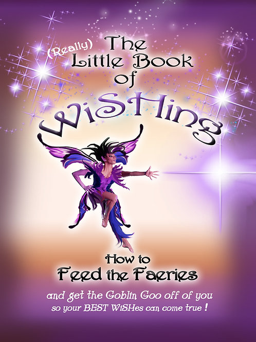 book - How to Feed the Faeries and get the Goblin Goo off of you