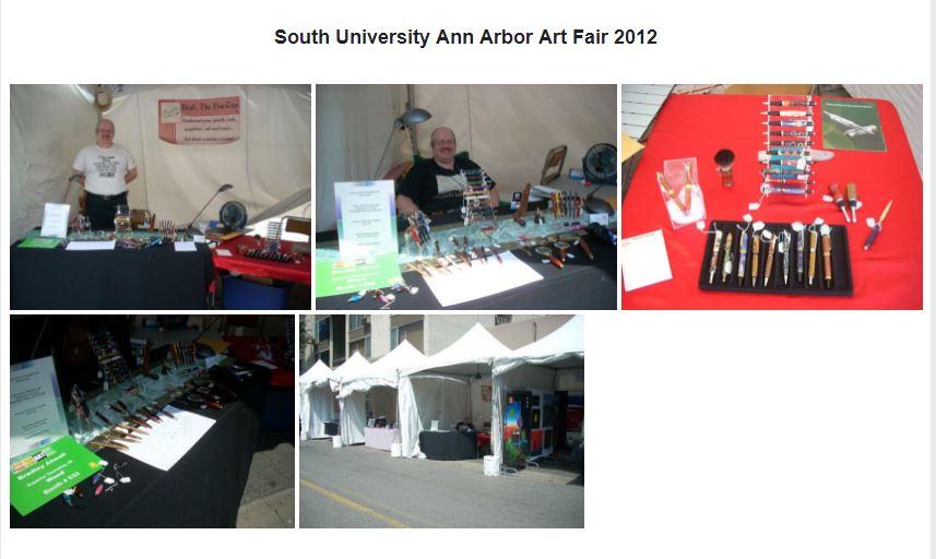 Ann Arbor Art Fair, July 2012