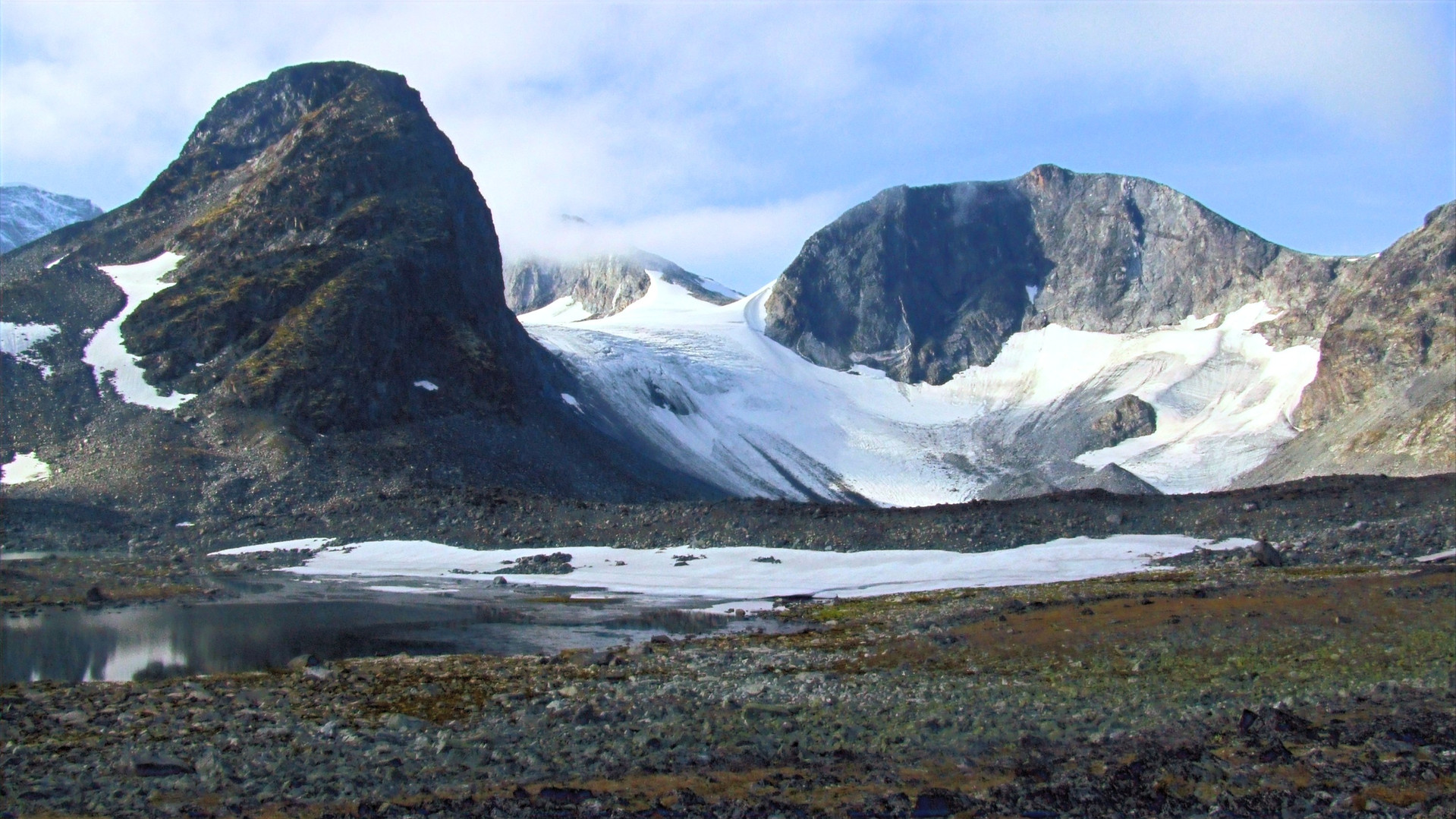 Grotbreahesten und Trollsteinseggi, Jotunheimen