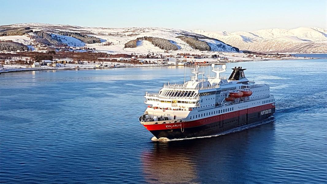 Hurtigrutenschiff MS Polarlys