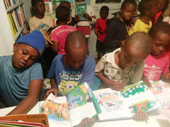 Brosis Kids Library Session