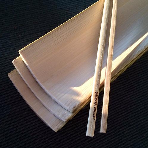 竹皿21㎝(3枚セット)