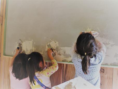 【報告】4月21日(日)漆喰ワークショップを開催しました