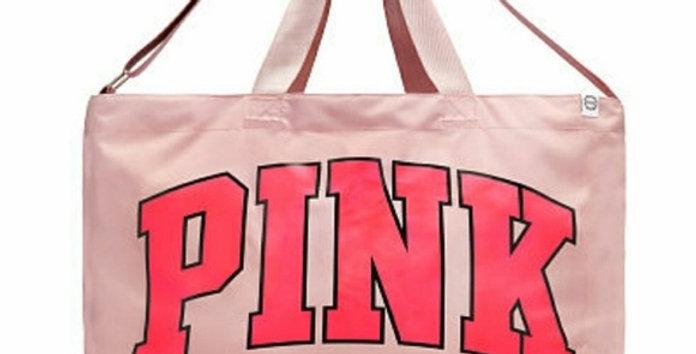 Pink Victoria's Secret Weekender Bag NIP