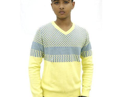 Krazy Gang V Neck Boys' Sweater