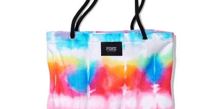 Pink Victoria's Secret Packable Tote Towel NIP
