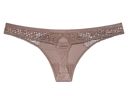 Victoria's Secret 'Very Sexy' Lace & Mesh Thong Panty NIP
