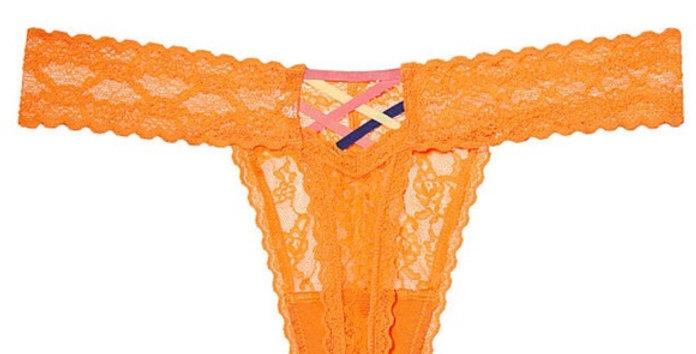 NWT Victoria's Secret Lace Cutout Thong