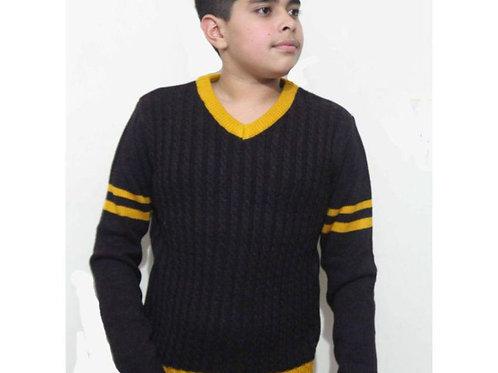 Krazy Gang Boys' V Neck Poly Cotton Pullover