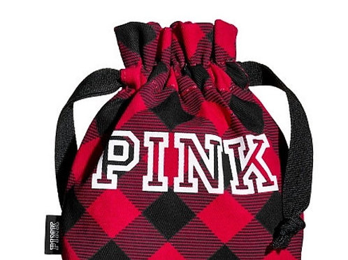 Pink Victoria's Secret Mini Pouch NWT