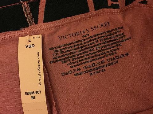 Victoria's Secret Logo Boyshorts in Soft Begonia