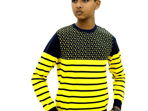 Krazy Gang Round Neck Boys' Sweater