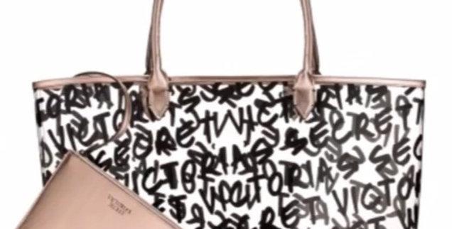 Victoria's Secret Graffiti Tote NIP