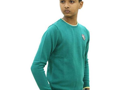 Krazy Gang Round Neck Boys' Sweater
