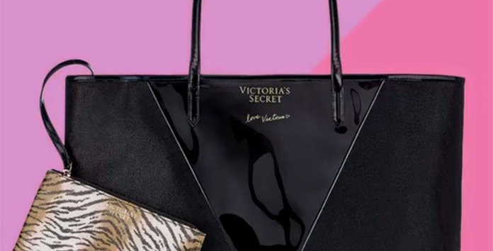 Victoria's Secret Carry All Tote with Mini NIP