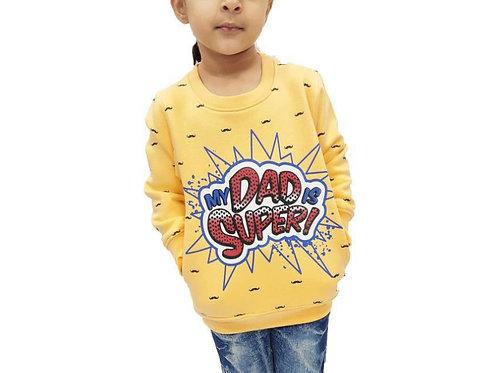 Krazy Gang Kids' Round Neck Sweatshirt