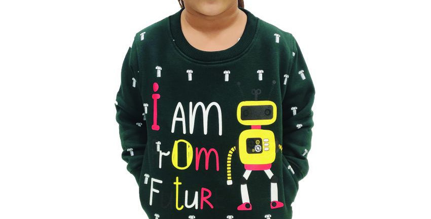 Krazy Gang Kids' Round Neck Girls Sweatshirt