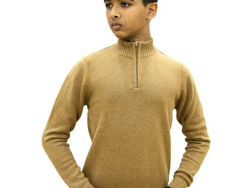 Krazy Gang Mock Neck Boys' Sweater