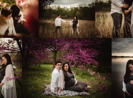 Maternity Portraits | Neshaminy State Park Bucks County PA