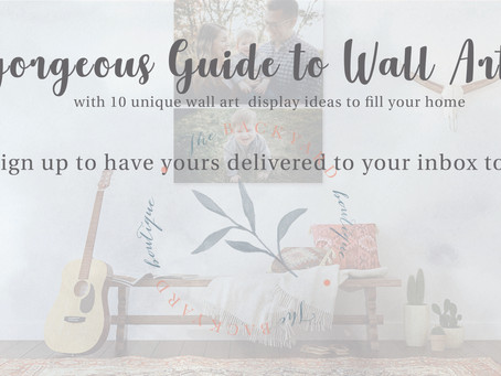 It's A Gorgeous Guide to Wall Art, Honey!