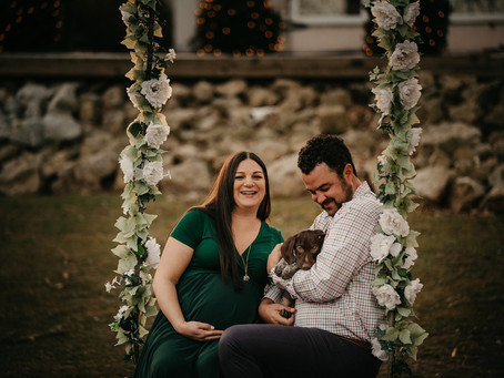 Maternity Photos with your dog!